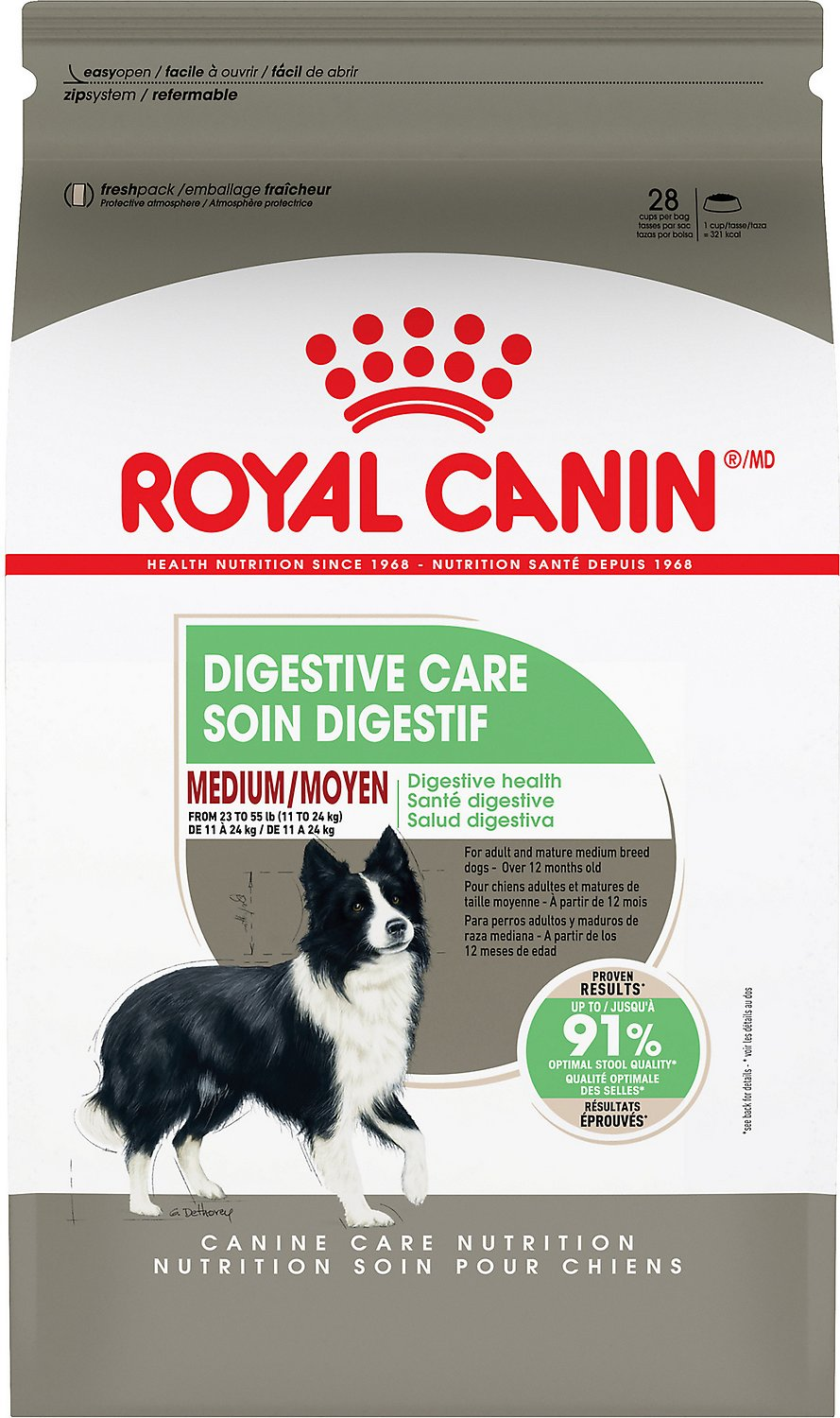 Šunų maistas ROYAL CANIN Medium Digestive Care 3kg.