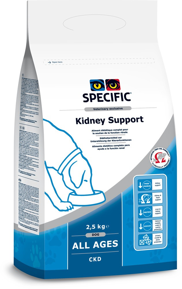 Specific CKD HEART & KIDNEY SUPPORT 2,5kg.