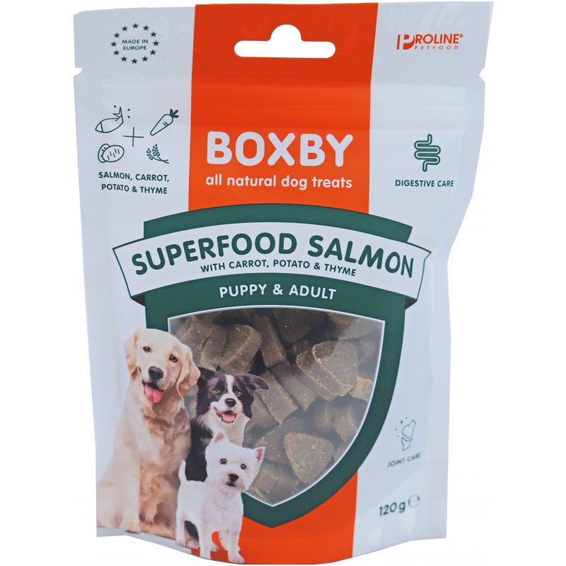 Boxby Superfood Salmon 120g