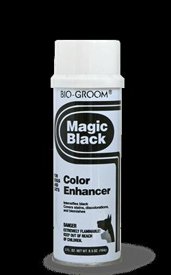 Bio Groom Magic Black purškiama kreida šunims ir katėms