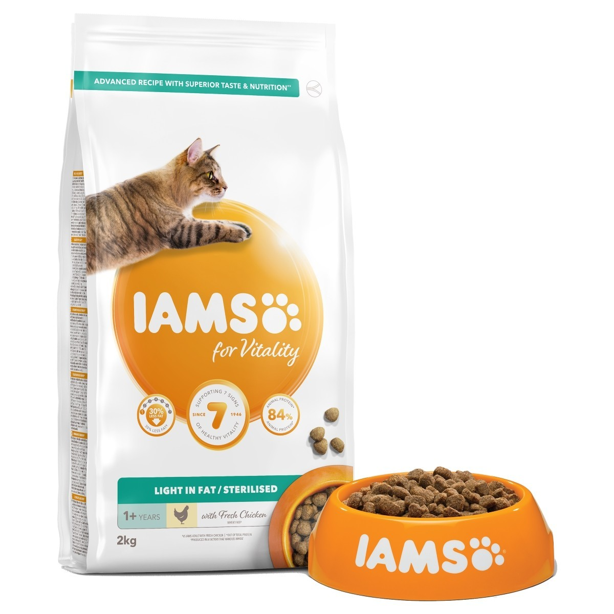 IAMS Cat Sterilised Light 10kg