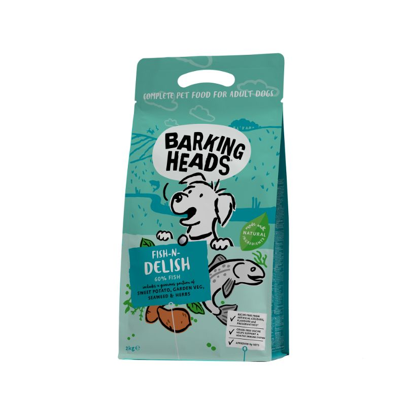 Barking Heads FISH N DELISH GRAIN FREE 2kg.