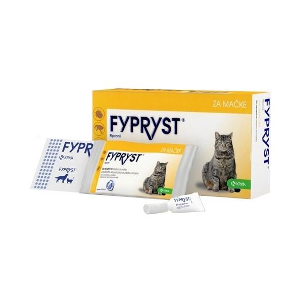 FYPRYST 50 mg užlašinamasis tirpalas katėms N1