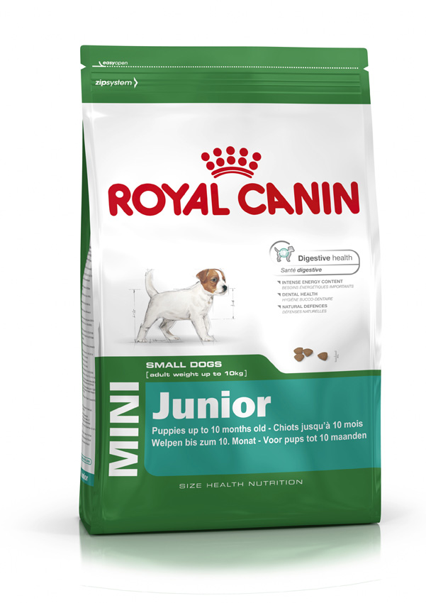 Šunų maistas Royal Canin Mini Junior 2kg.