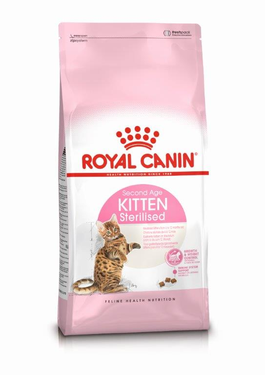 Royal Canin Kitten Sterilised 2kg.