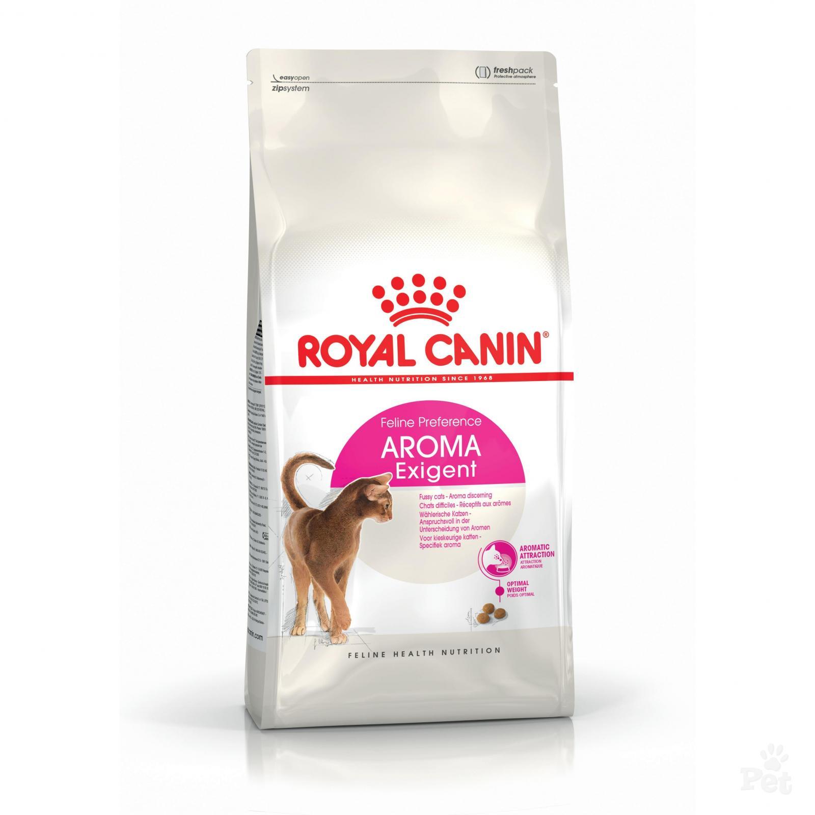 Kačių maistas Royal Canin Aroma Exigent 2kg.