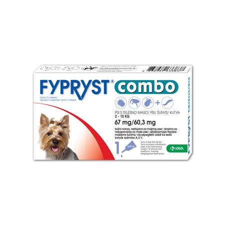 Fypryst Combo 67 mg/60,3 mg 2-10kg N1