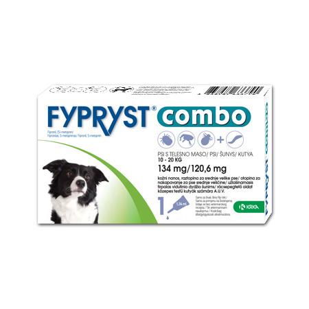 Fypryst Combo 134 mg/120,6 mg 10-20kg N1