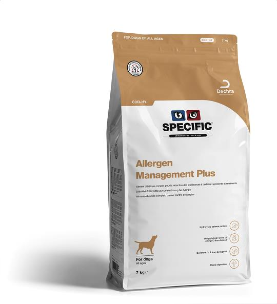 Specific CQD-HY Allergy Management Plus 2,5kg
