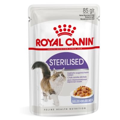 Royal Canin Sterilised in Jelly  85grx12vnt.