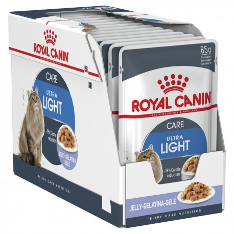 Royal Canin Ultra Light in Jelly 12x85g