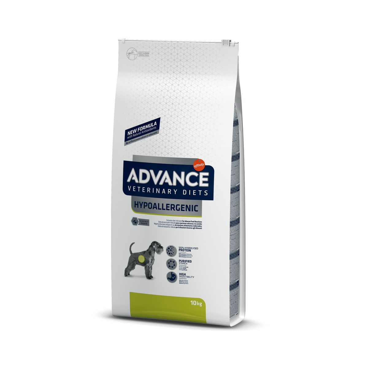 Advance Hypoallergenic formula 10kg.