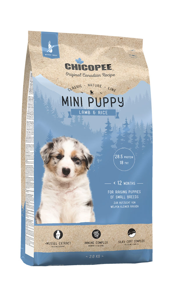 Šunų Maistas Chicopee Mini Puppy Lamb & Rice 2kg.