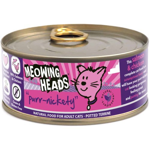 Meowing Heads Wet Purr Nickety 100gr