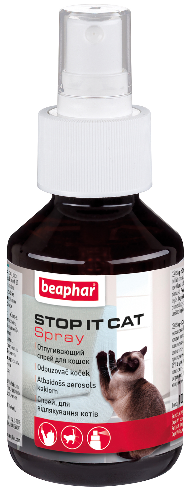 Beaphar Stop-it Cat katei atbaidyti 100ml