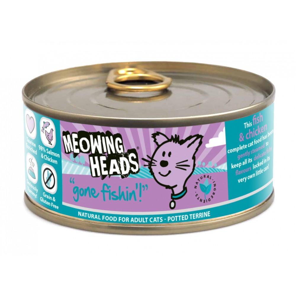 Meowing Heads Wet Gone Fishin 85gr