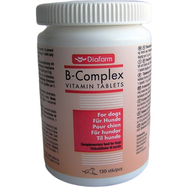 DIAFARM VITAMIN B COMPLEX tabletės N130