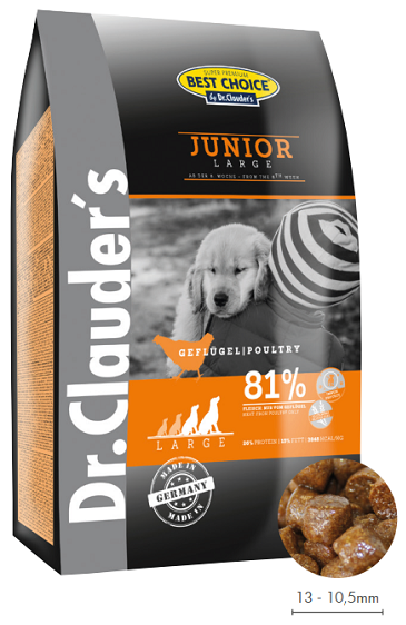 Dr. Clauders JUNIOR large and giant breed  12,5kg.