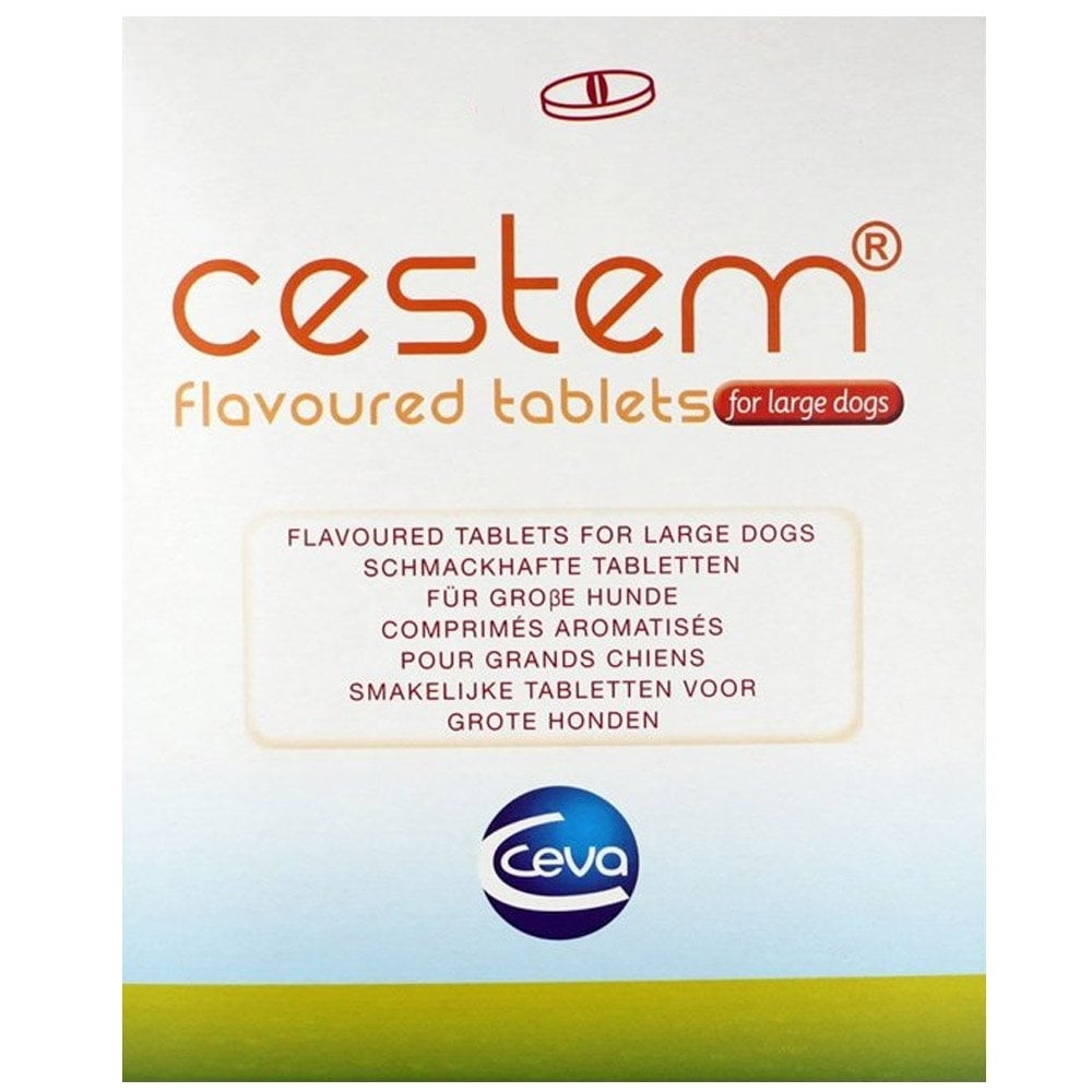 CESTEM gardžiosios tabletės dideliems šunims 1 talb.