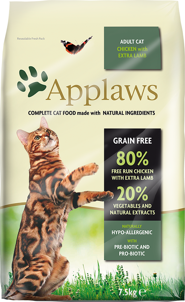 APPLAWS Cat Adult Chicken with Lamb 2kg
