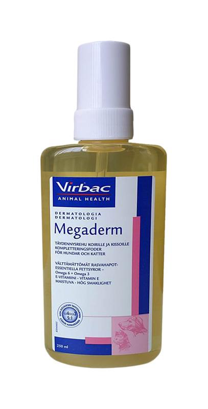 Virbac Megaderm aliejus 250 ml.