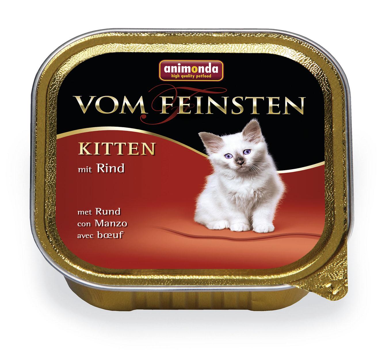 Animonda vom feinsten Kitten  100gr