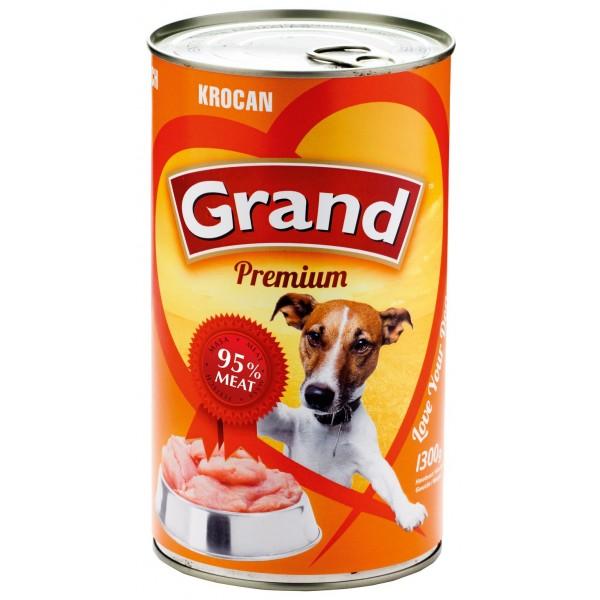 GRAND Premium konservai šunims su kalakutiena 1300g