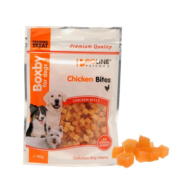 Boxby Chicken Bites 90g