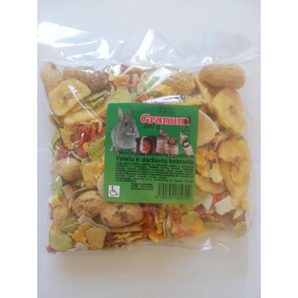 GRANUM vaisių ir daržovių kokteilis 200 g