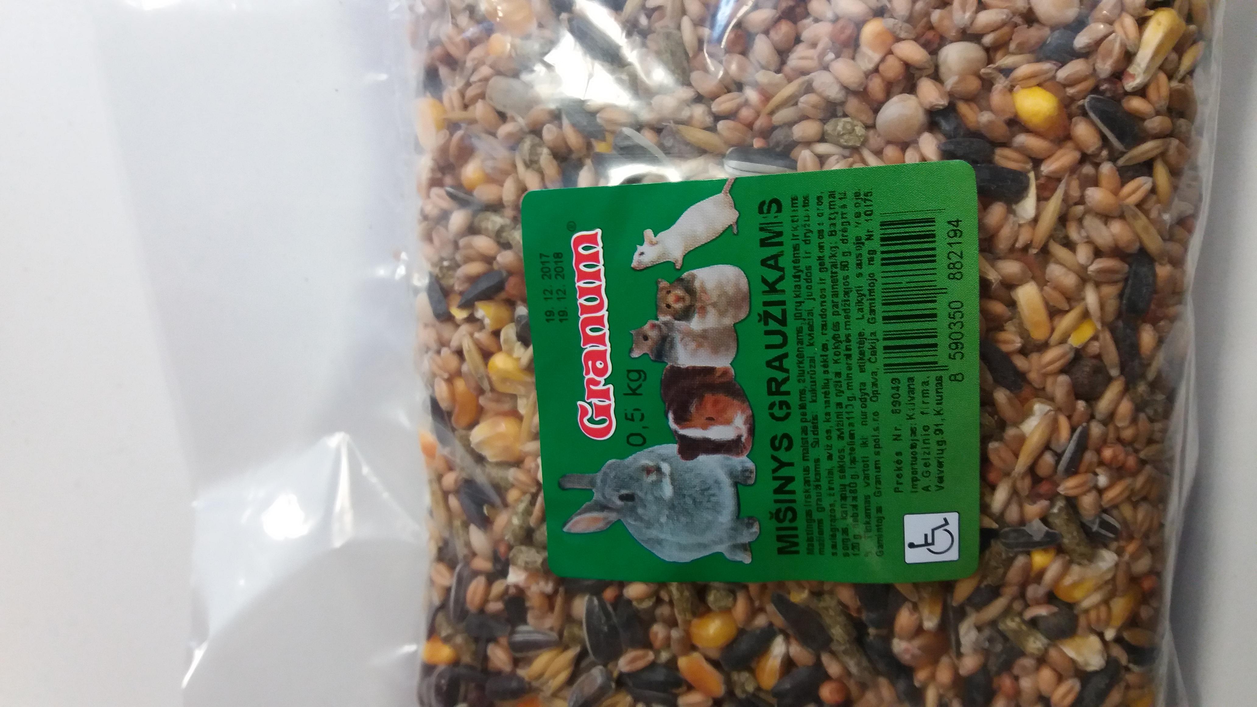 GRANUM mišinys graužikams 500 g