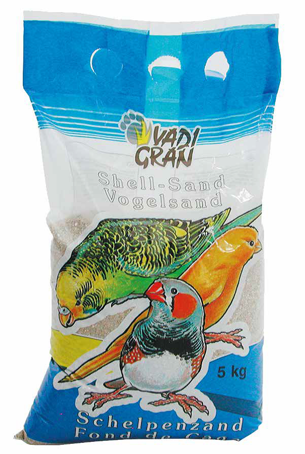 Smėlis paukščiams shellsand baltas 1kg