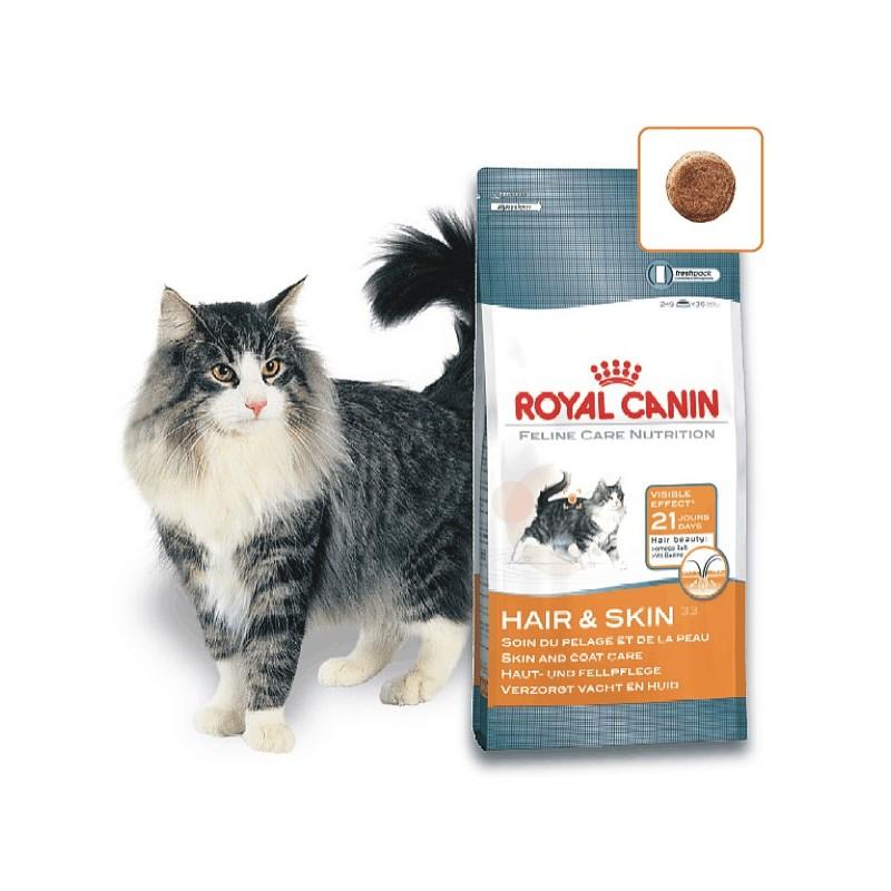 Kačių maistas Royal Canin Hair & Skin Care 2kg.