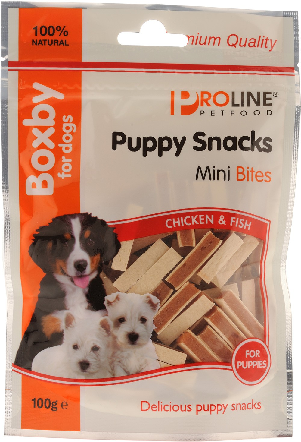 Boxby Puppy Snacks. Mini bites 100g.