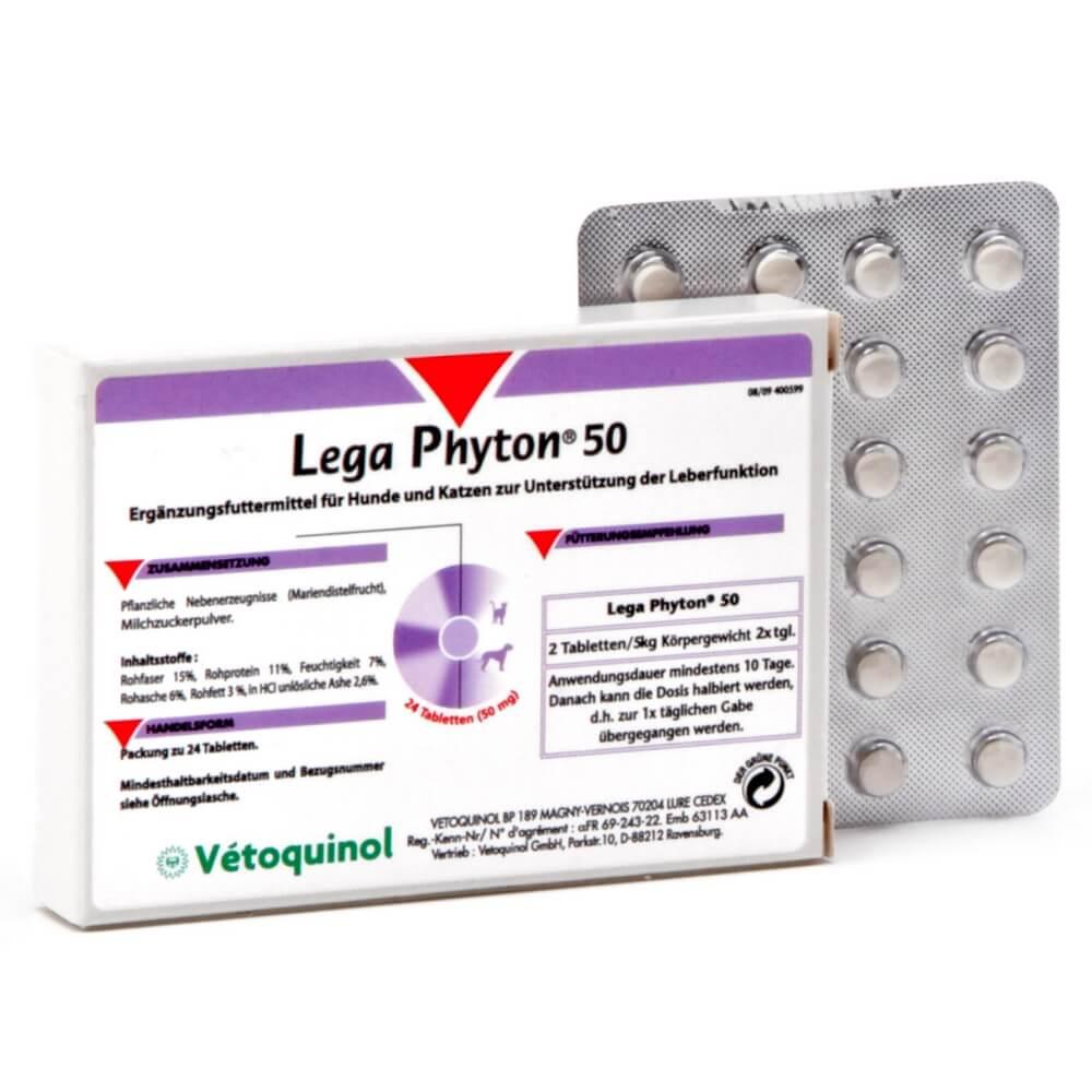 LEGAPHYTON 50mg  tabletės N24