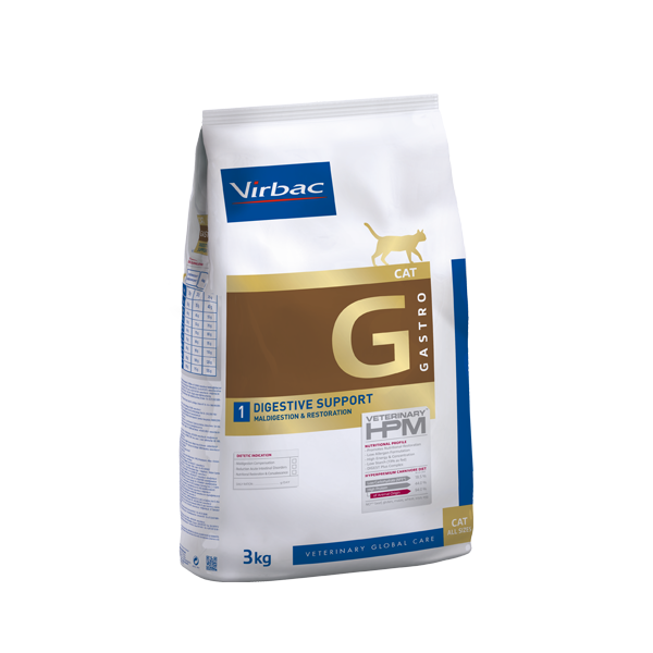 Virbac HPMD G1 Cat DIGESTIVE SUPPORT 1,5kg