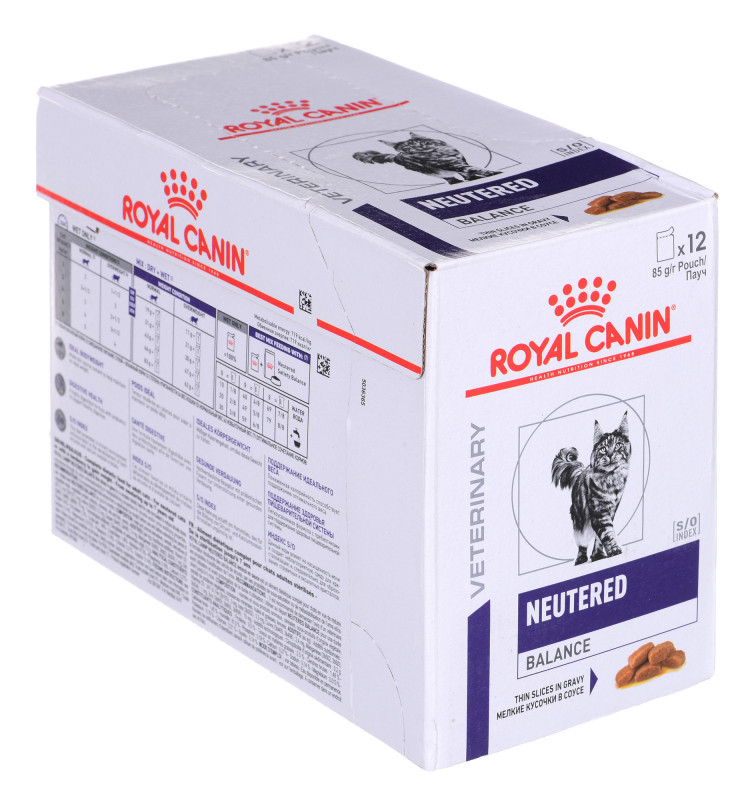 Royal Canin Neutered Weight Balance 12 x 100gr