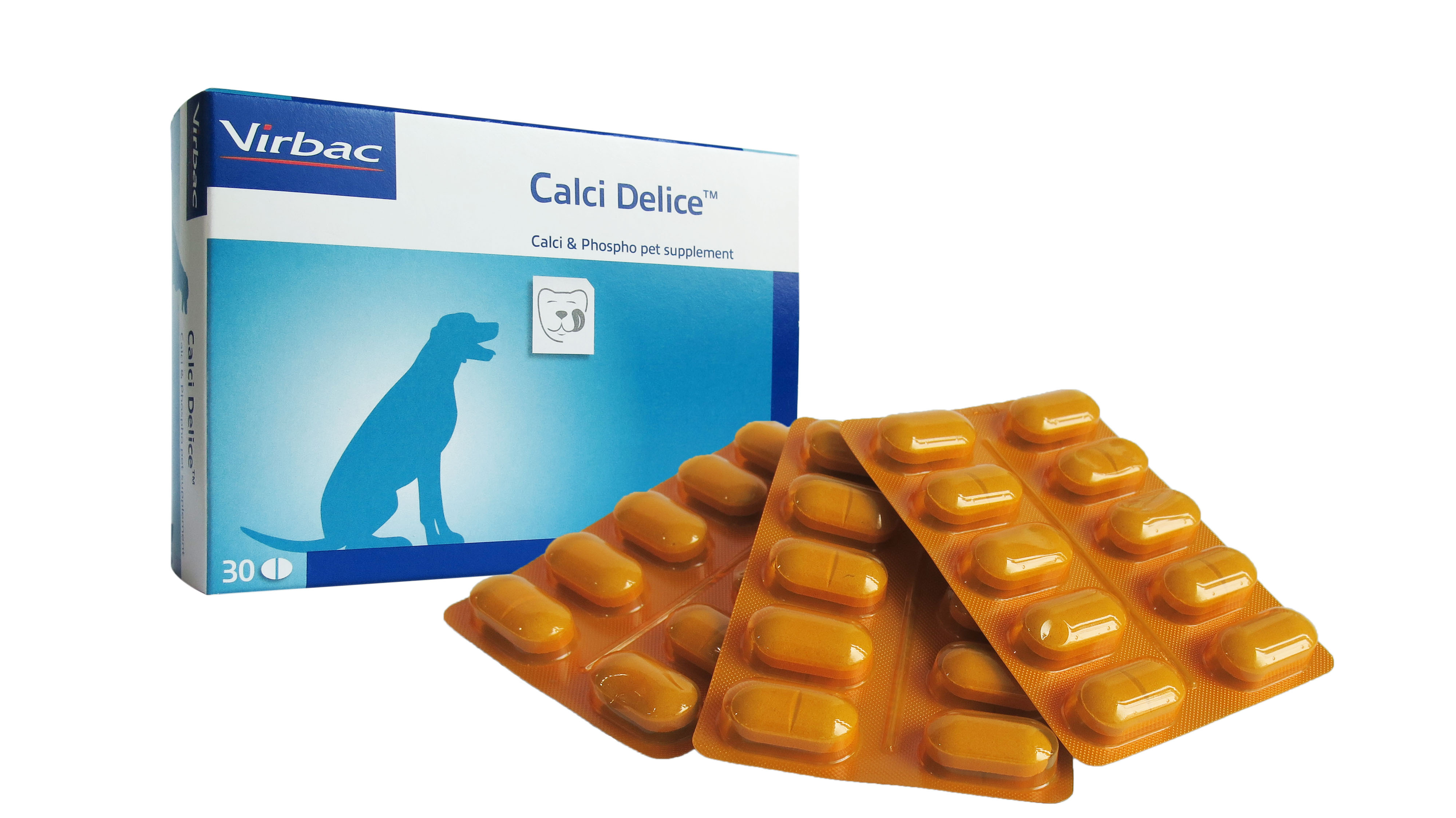 Virbac Calci Delice 30 tab.