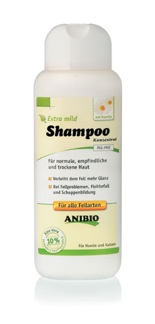 ANIBIO Shampoo Sensetive 250 ml