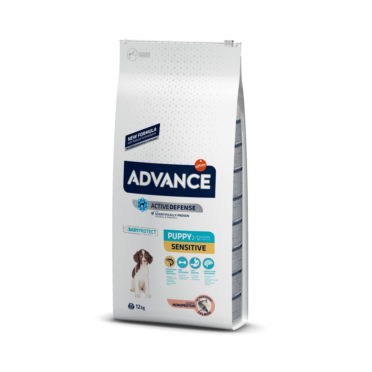 Šunų maistas Advance Puppy Protect Sensitive salmon 12kg