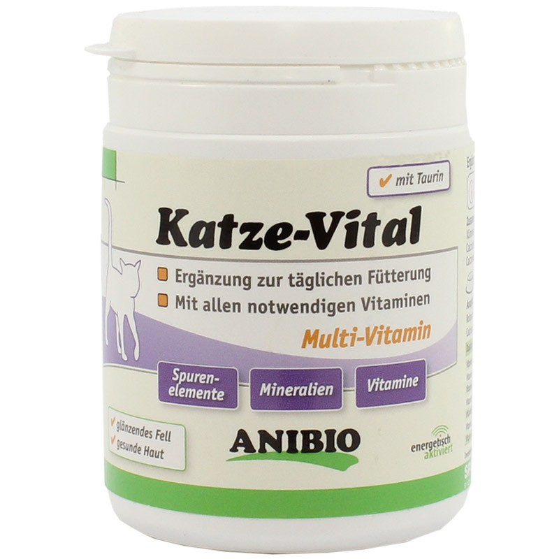 ANIBIO Katze-Vital multivitaminų kompleksas 110g