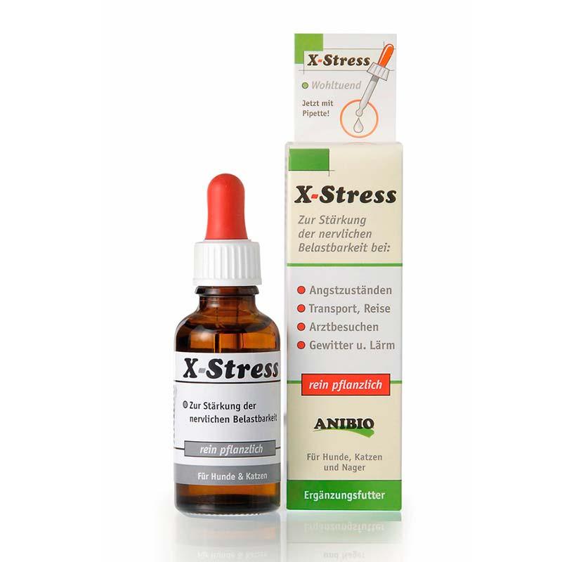ANIBIO X-Stress Nervinei sistemai stiprinti 30 ml