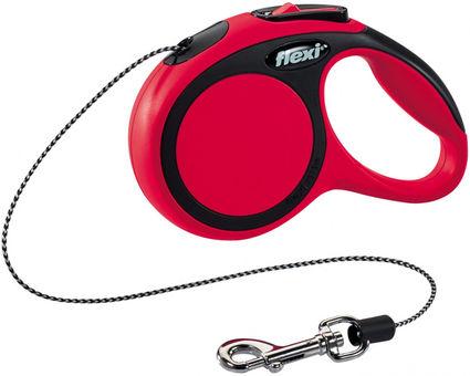 Flexi New Comfort XS Virvelė Raudonas 3m/8kg
