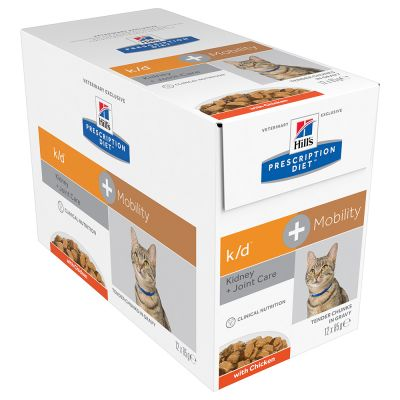 Hills Prescription Diet Feline k/d + mobility 12x85gr