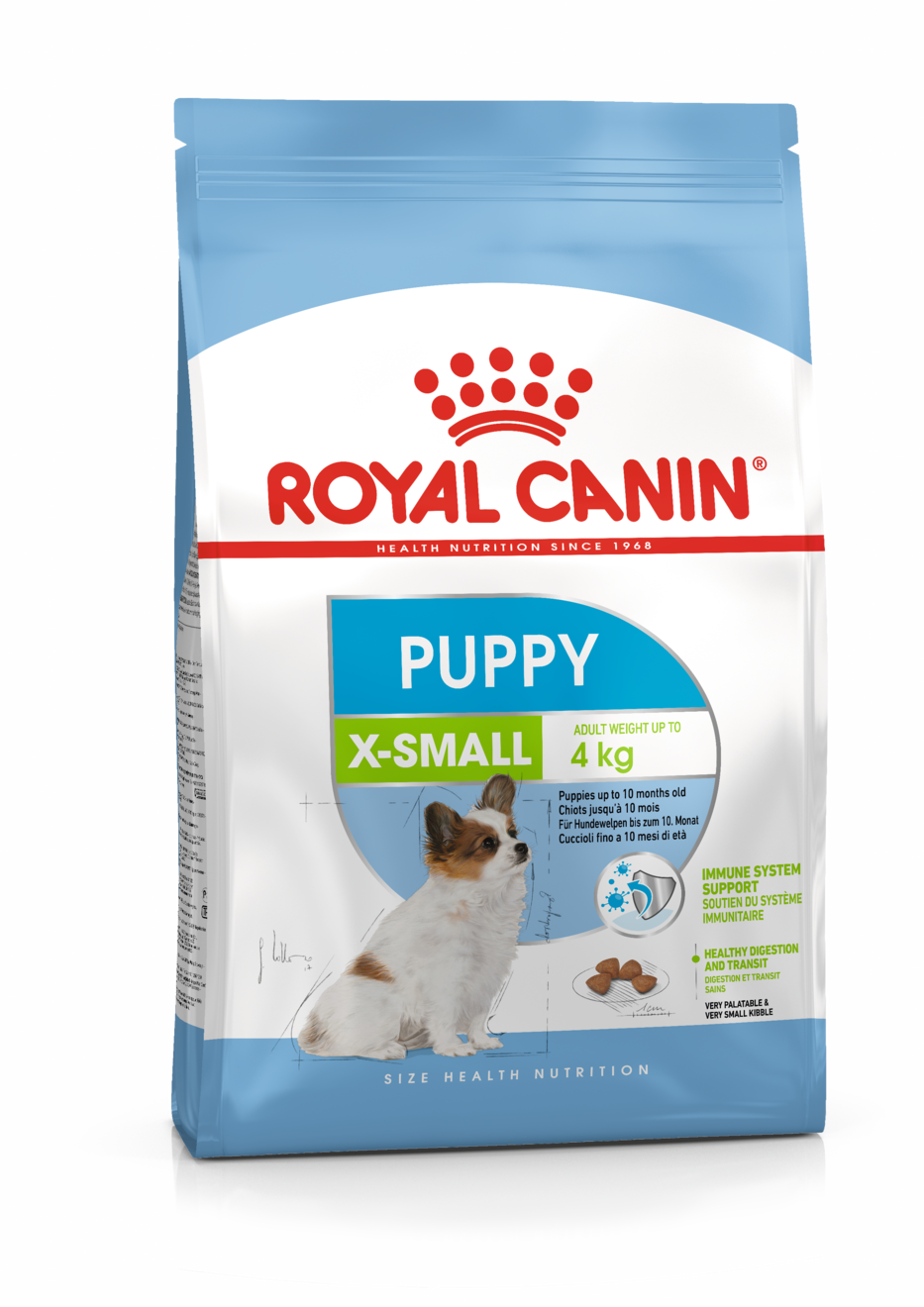 Šunų maistas Royal Canin X-Small Puppy 1,5kg
