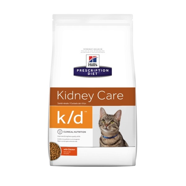Hills Prescription Diet Feline k/d 1,5kg.