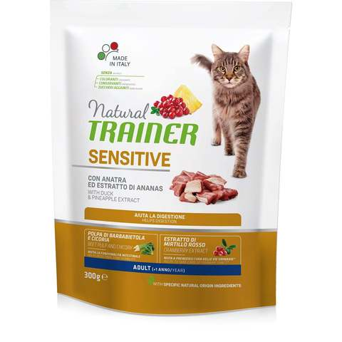 Kačių maistas Trainer Solution Cat Sensitive 1,5kg