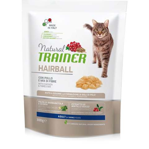 Kačių maistas Trainer Solution Cat Hairball Control  1,5kg