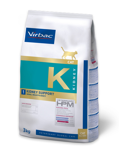 Virbac HPMD K1 Cat KIDNEY SUPPORT 1,5kg