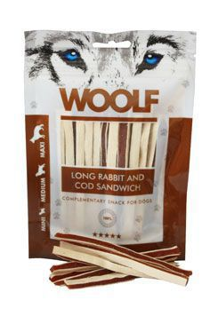 WOOLF Long Rabbit and Cod Sandwich 100gr.
