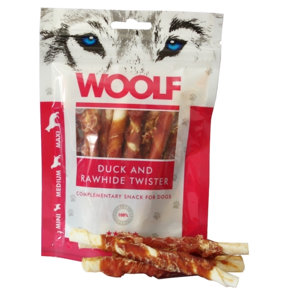 WOOLF Duck and Rawhide Twister 100gr.